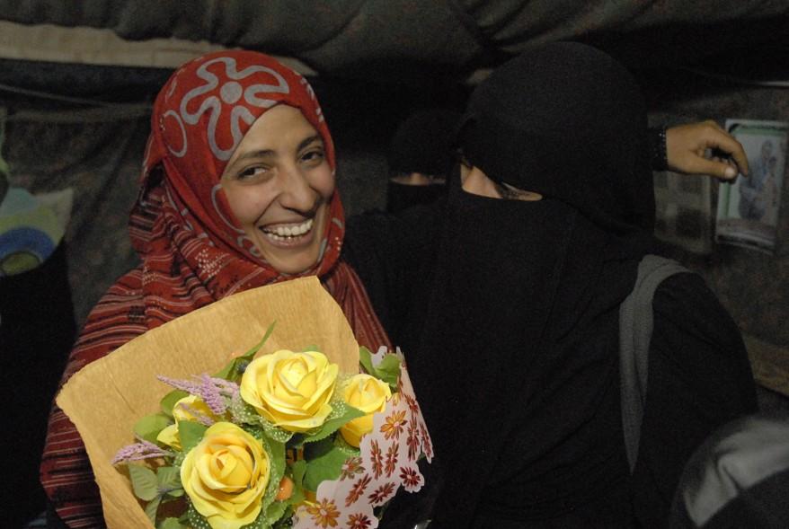 """""""Yemen Activist Nobel Prize Winner"""""""