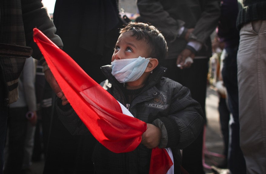 Egypt Clashes Child