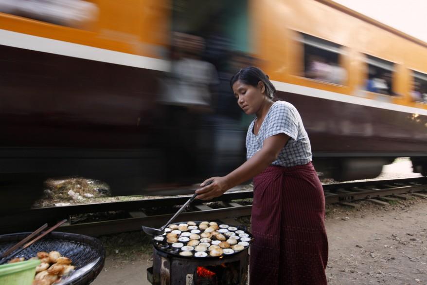 Burma Rangoon Rail