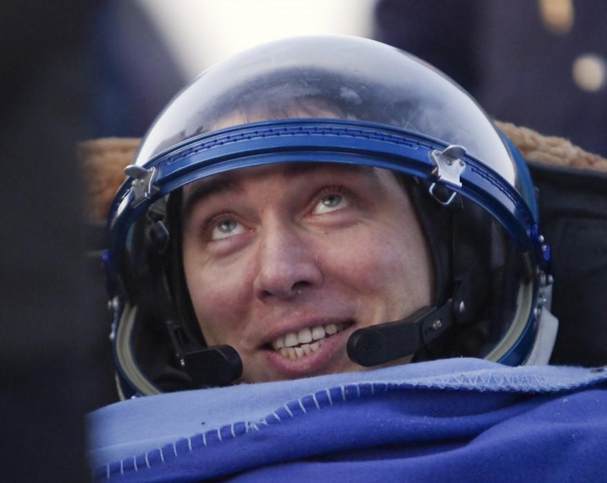 Russia Cosmonaut Kazakhstan