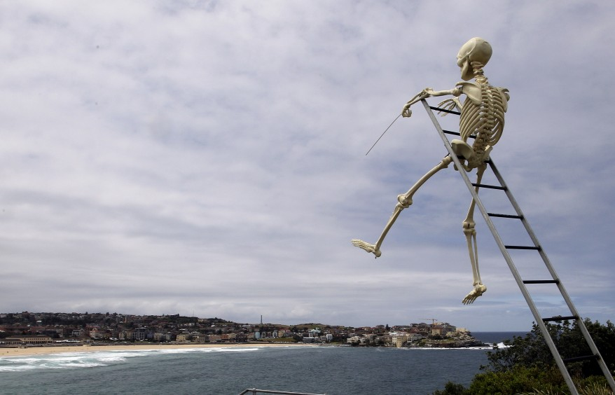 """Australia Sculputures By The Sea"""