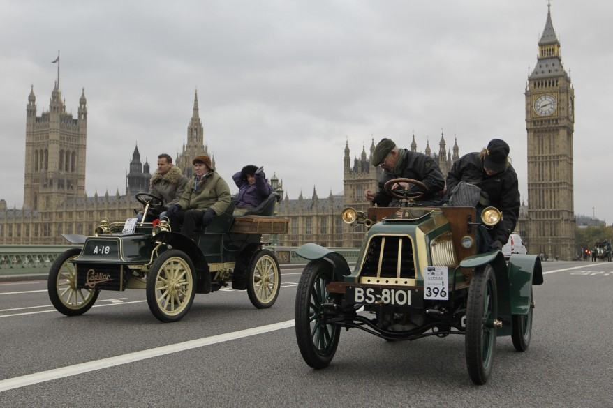 """Britain Veteran Car Run"""