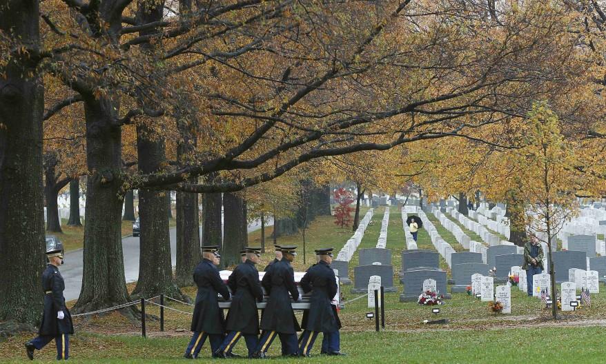 """Arlington Burial WWII"""