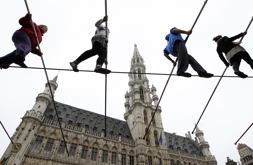 """Belgium Tightrope Walkers"""