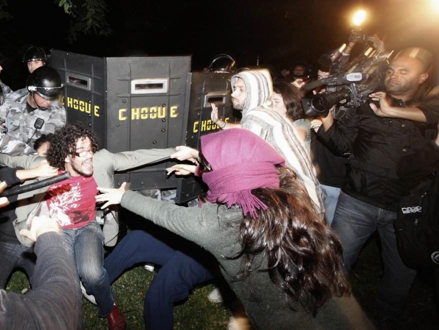 """""""Brazil Student Demonstration"""""""