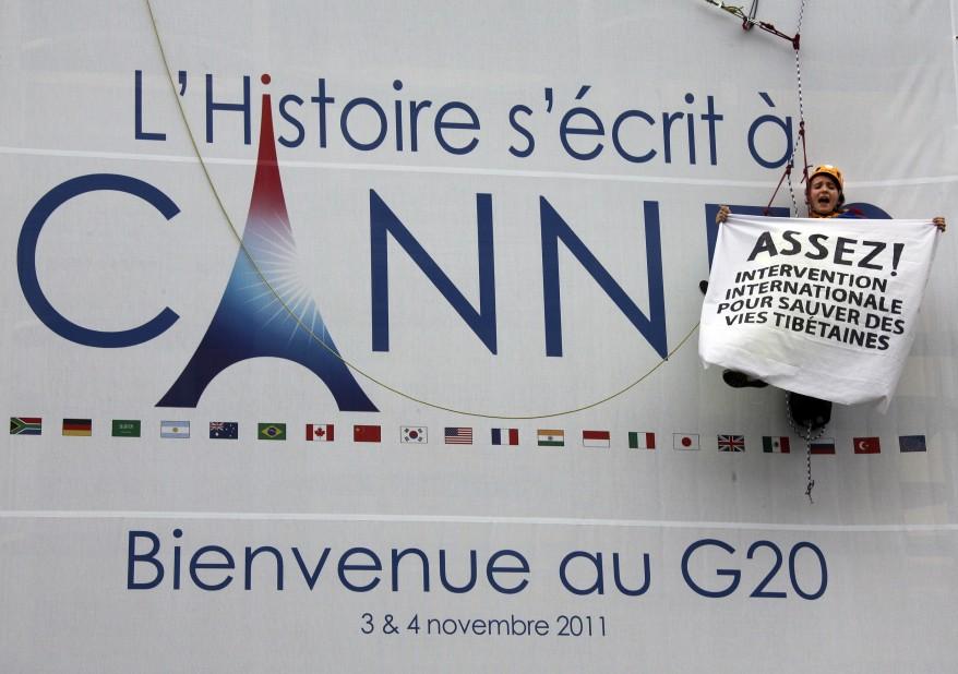 """""""France G20 Tibet"""""""