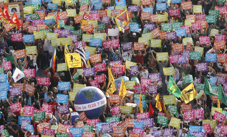 """France G20 Protest"""