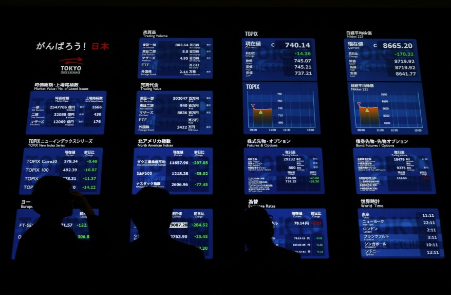 """Japan Tokyo Stock Exchange"""
