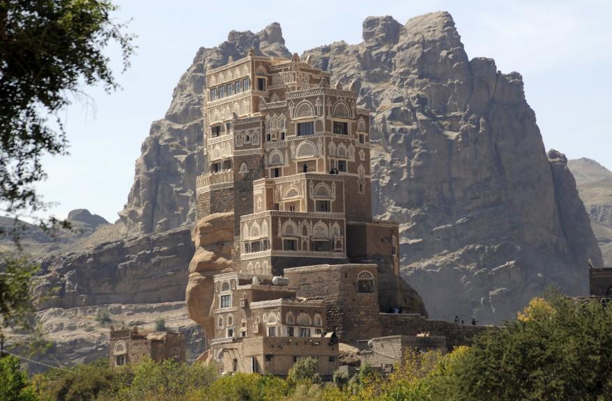 """""""Yemen Rock Palace"""""""