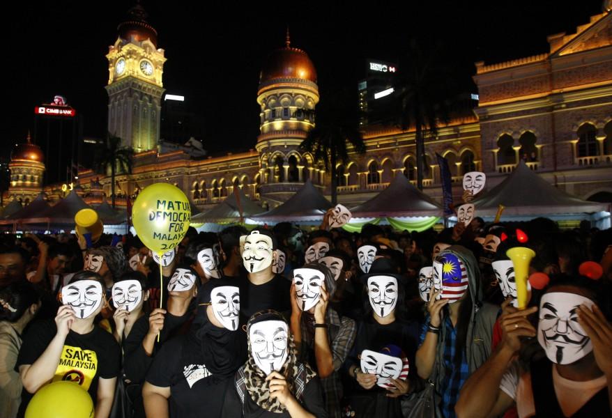Malaysia New Year Eve