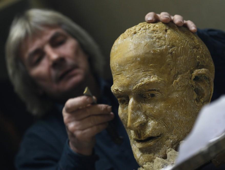 Steve Jobs Sculpture