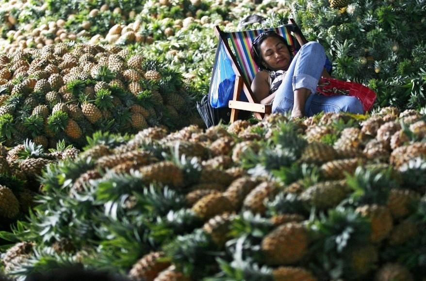 Manila Fruit Vendor