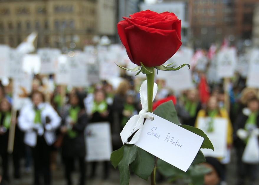 Montreal Rally Violence