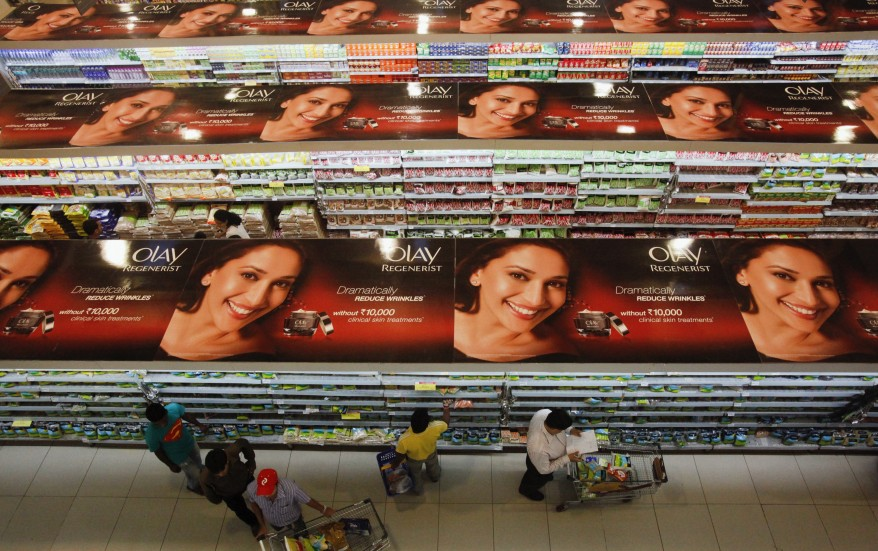 Mumbai India Supermarket