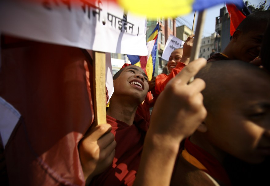 Nepal Buddhist Rally