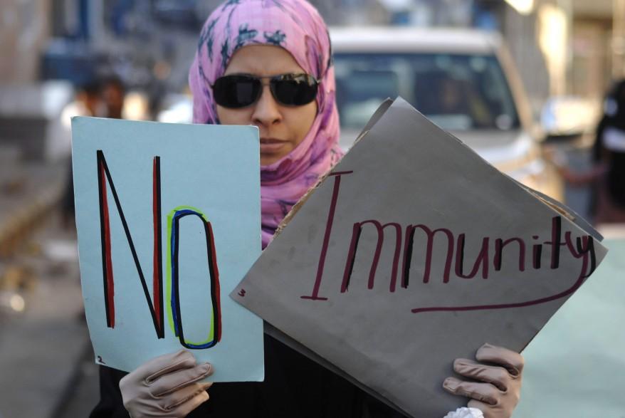 Yemen Protest Saleh