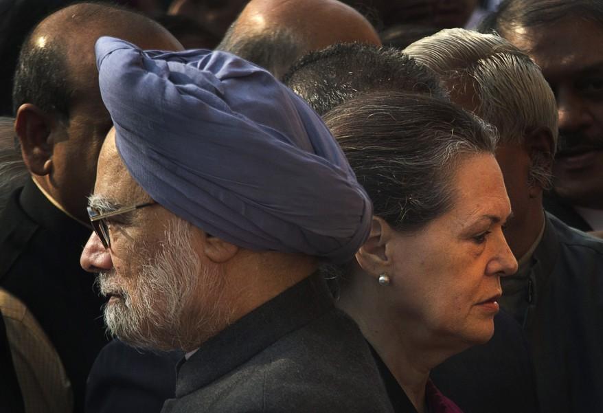 """""""India Manmohan Singh, Sonia Gandhi"""""""