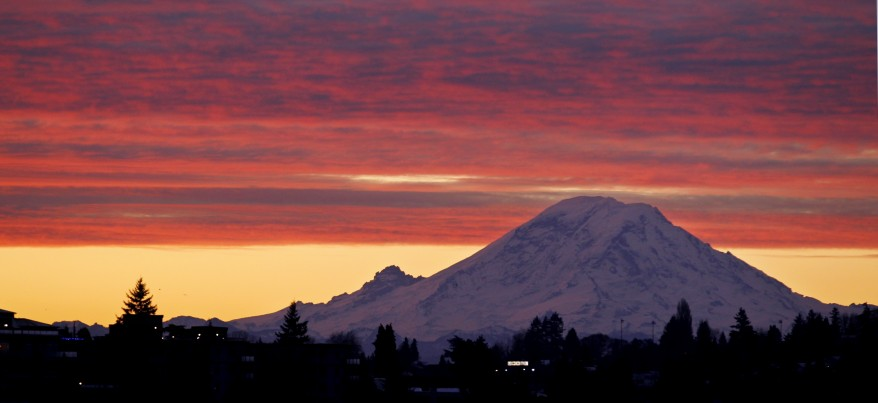 """Mount Rainier Sunrise"""