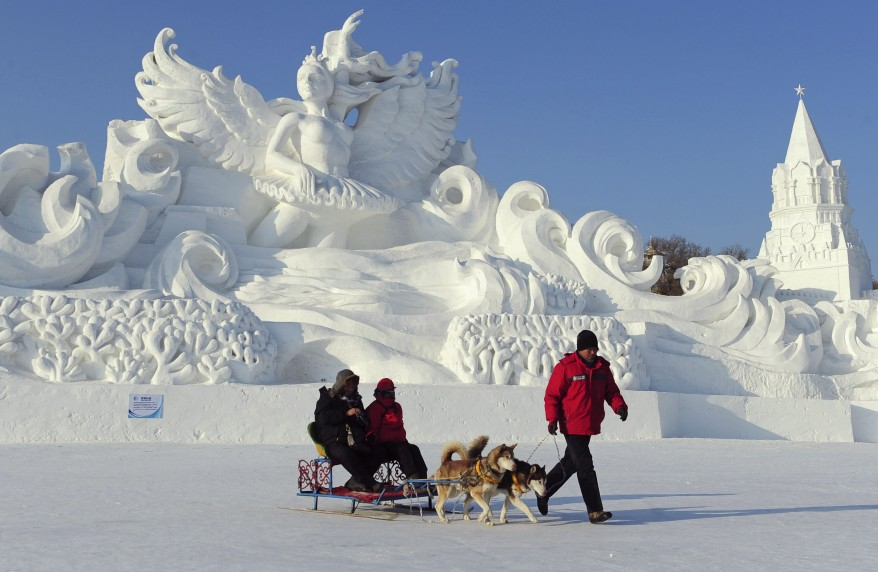 """China Harbin Ice and Snow World"""