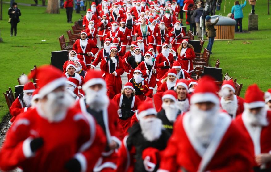"""Scotland Santa Run"""