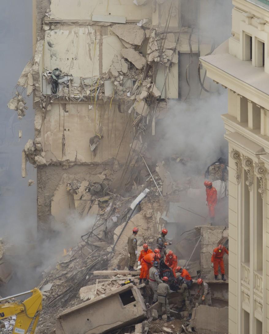 """Brazil Building Collapse"""