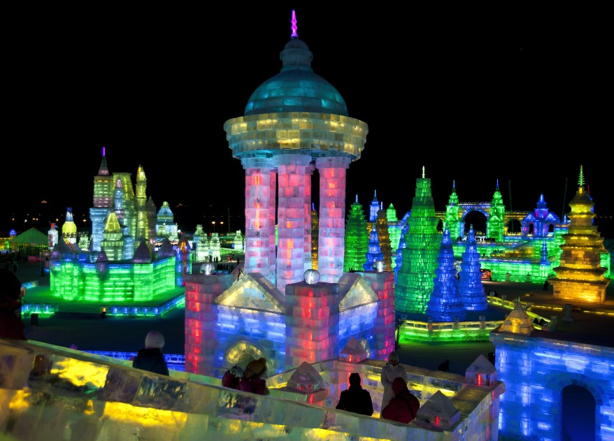 """China Harbin Ice Snow Festival"""
