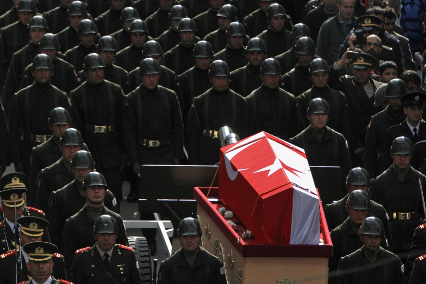 """Cyprus Denktash Funeral"""
