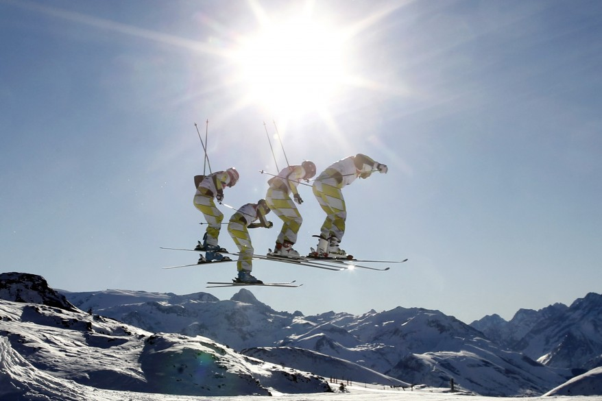 """France World Cup Ski Freestyle"""