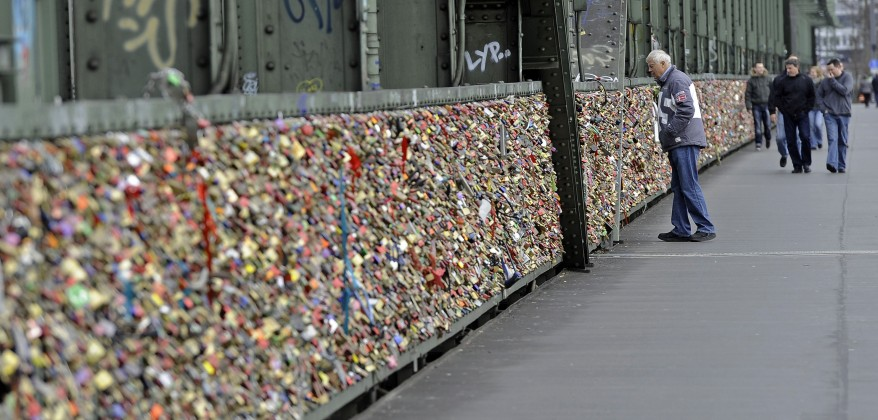 """Germany Lovers Locks"""