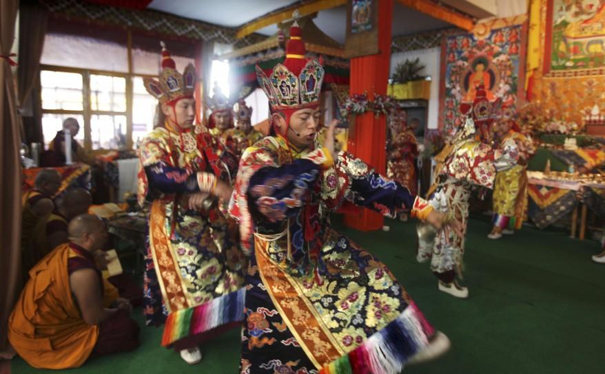 """India Buddhist Festival"""
