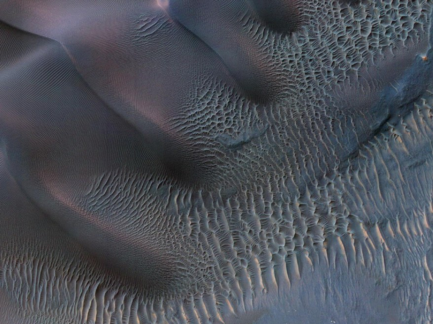 """Mars Sand Dunes"""