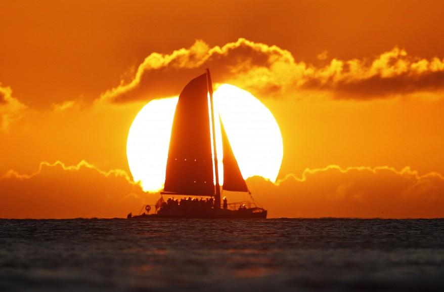 """""""Hawaii Sun Set"""""""