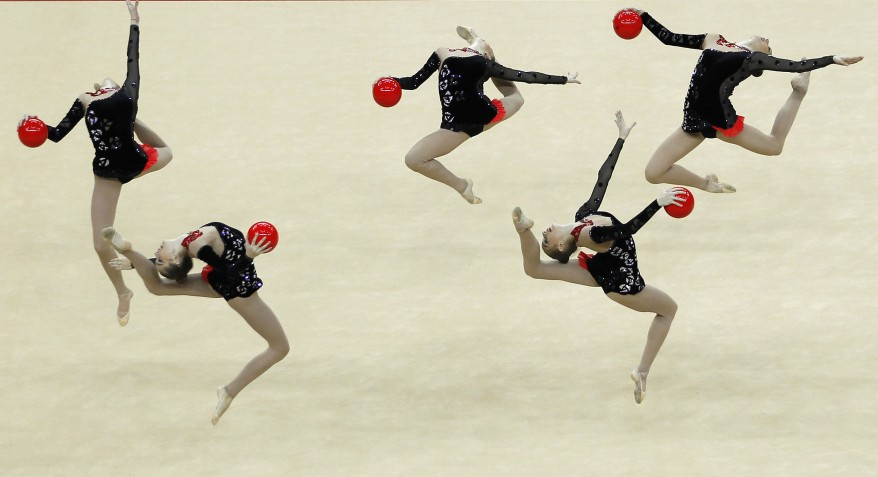 """Britain International Rhythmic Gymnastics"""