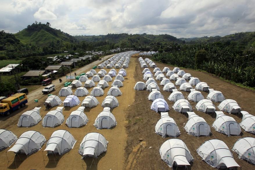 """""""Philippines Tents"""""""