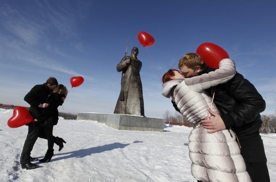 Valentine's Kiss Russia
