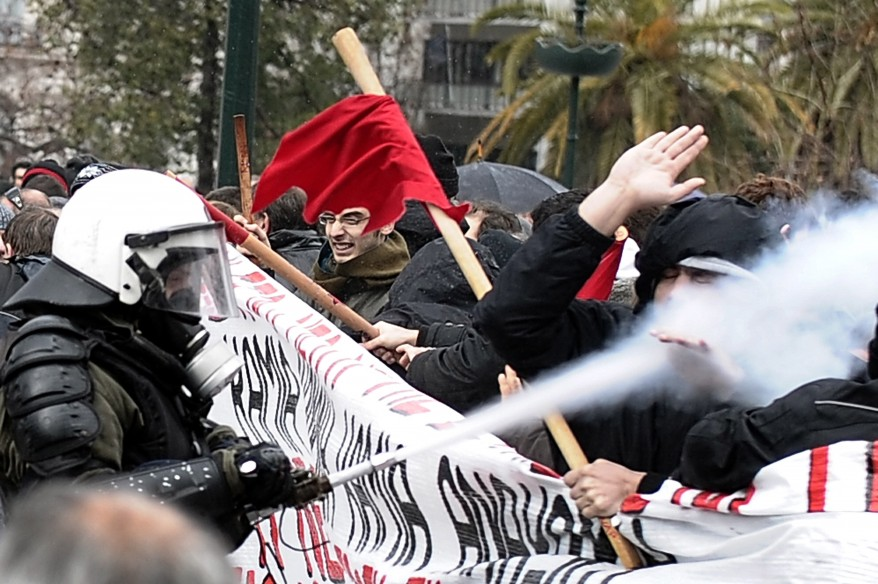 """""""Greece Finance Strike"""""""