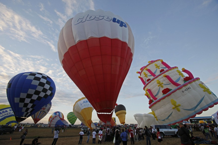 """Philippines Hot Air Balloon Festival"""
