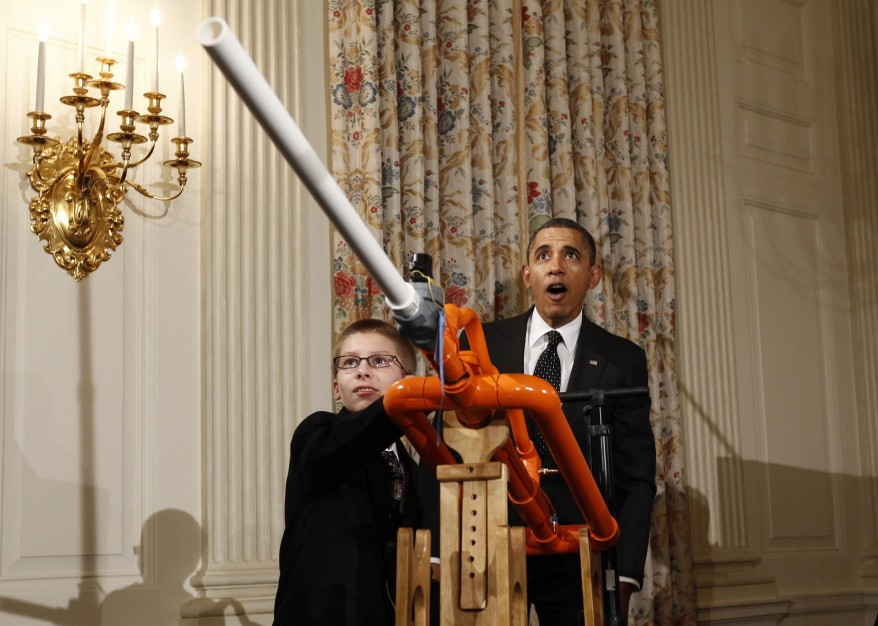 """Obama White House Science Fair"""