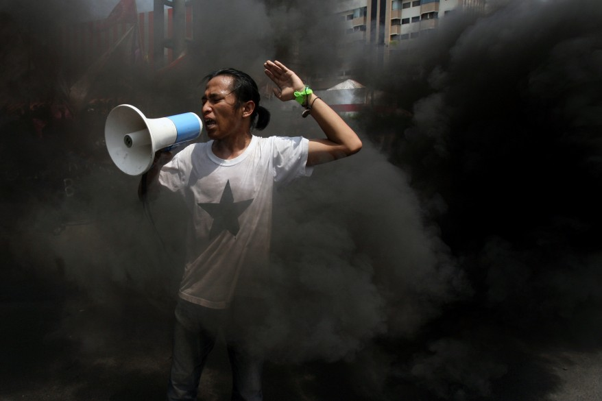 Indonesia Fuel Protest