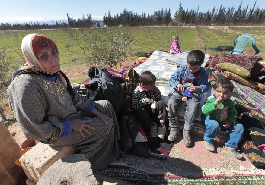 Syria Refugees Lebanon
