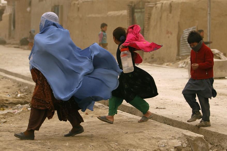 Afghanistan Kabul Windstorm
