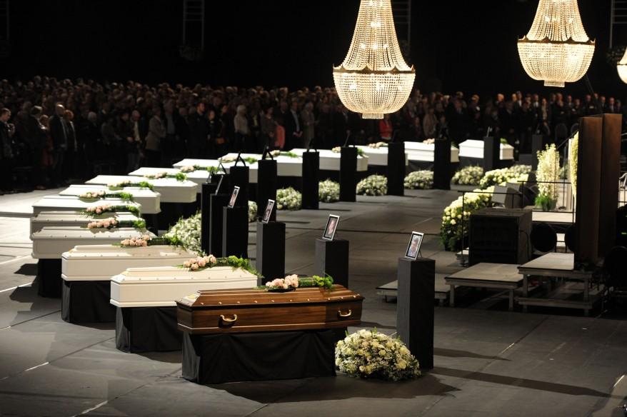 Belgium Crash Funeral