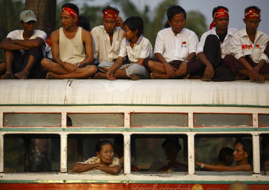 Burma Suu Kyi Supporters