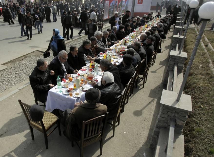 Georgia Novruz Meal