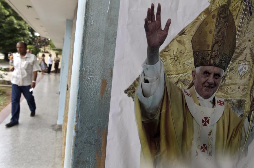 Pope Havana Cuba