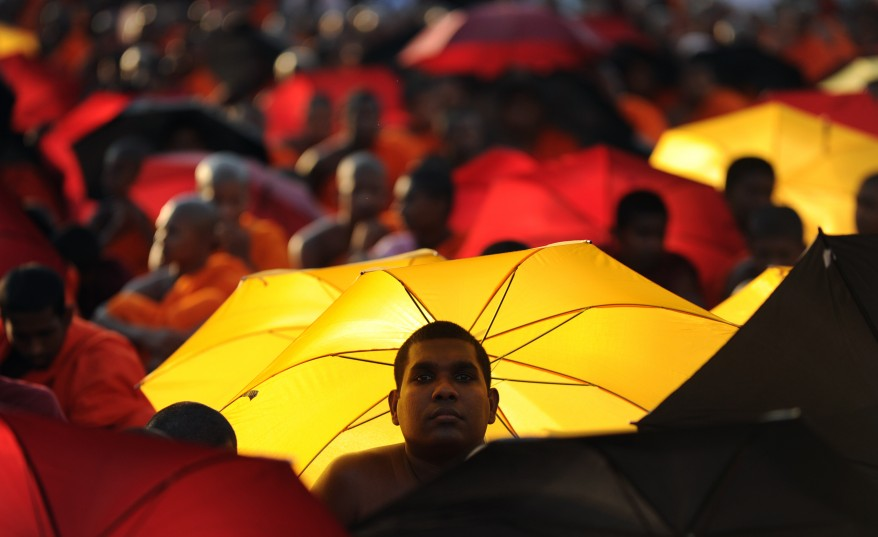 Sri Lanka Monks Protest