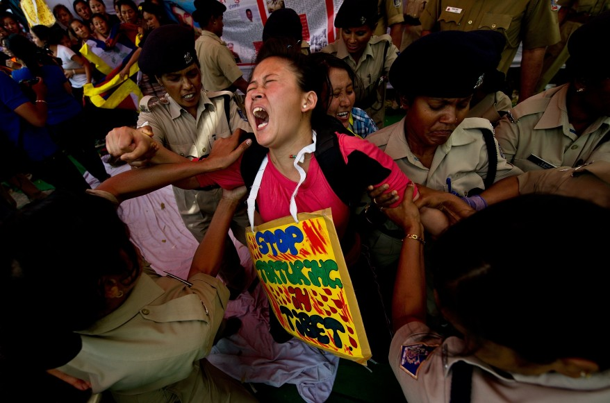 """India Tibet China Protest"""