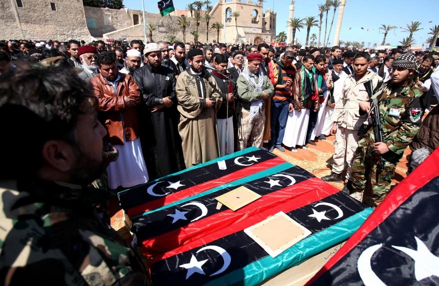 """Libya Unrest Funeral"""