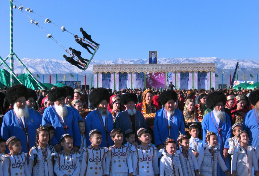 """Turkmenistan New Year"""