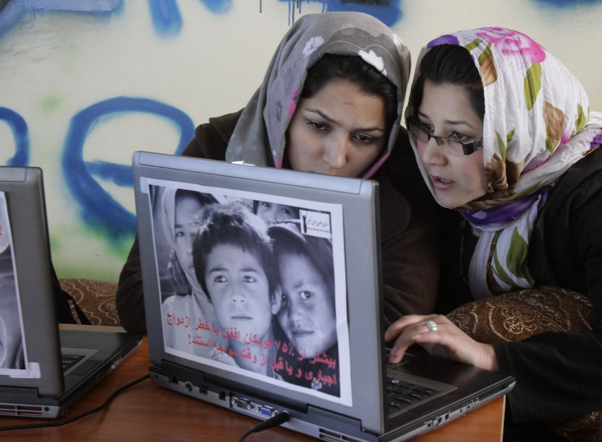 """Afghanistan Womens Internet Cafe"""